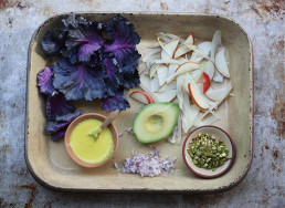 Crisp Apple and Turmeric Winter Salad by Amelia Freer