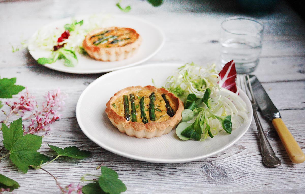 Gluten-Free Asparagus & Crab Cakes by Amelia Freer