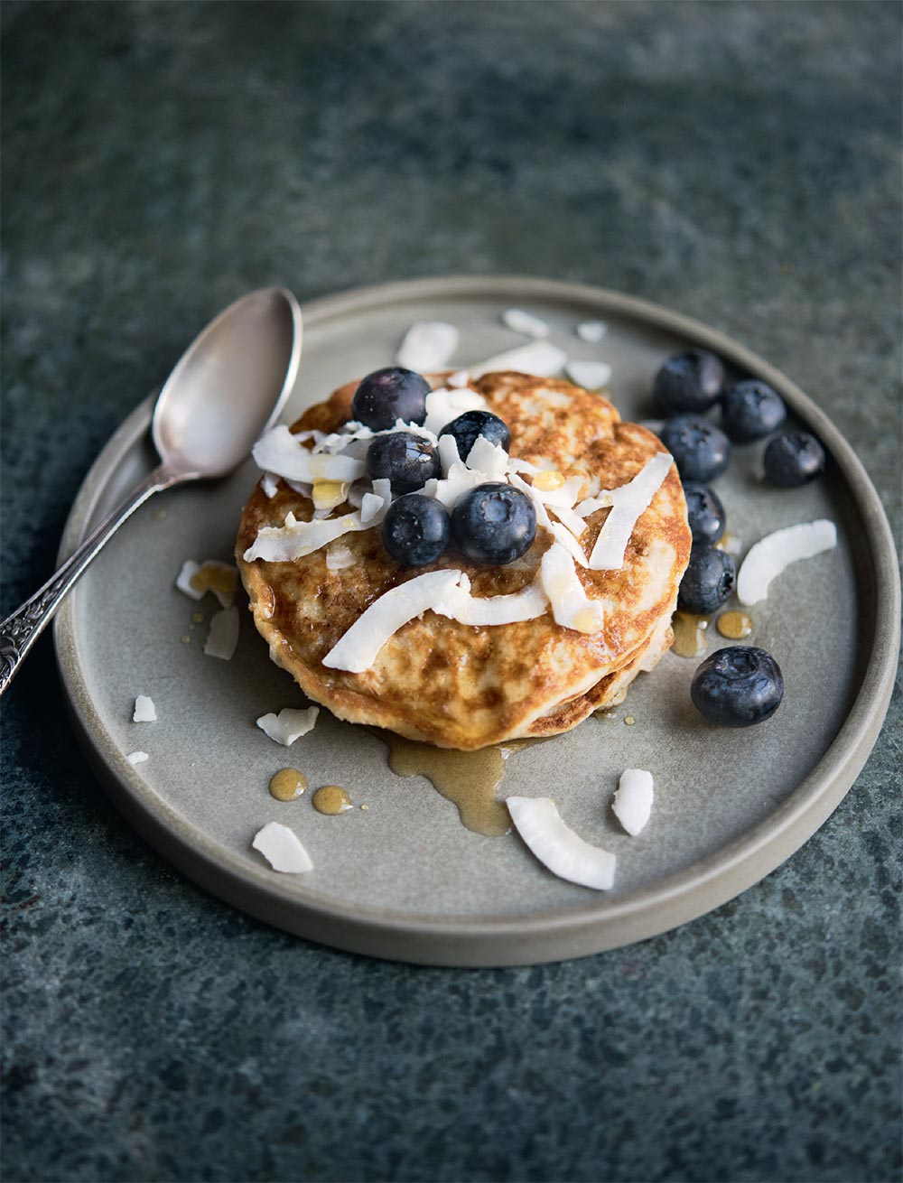 Naturally Gluten Free Coconut Pancakes, Amelia Freer