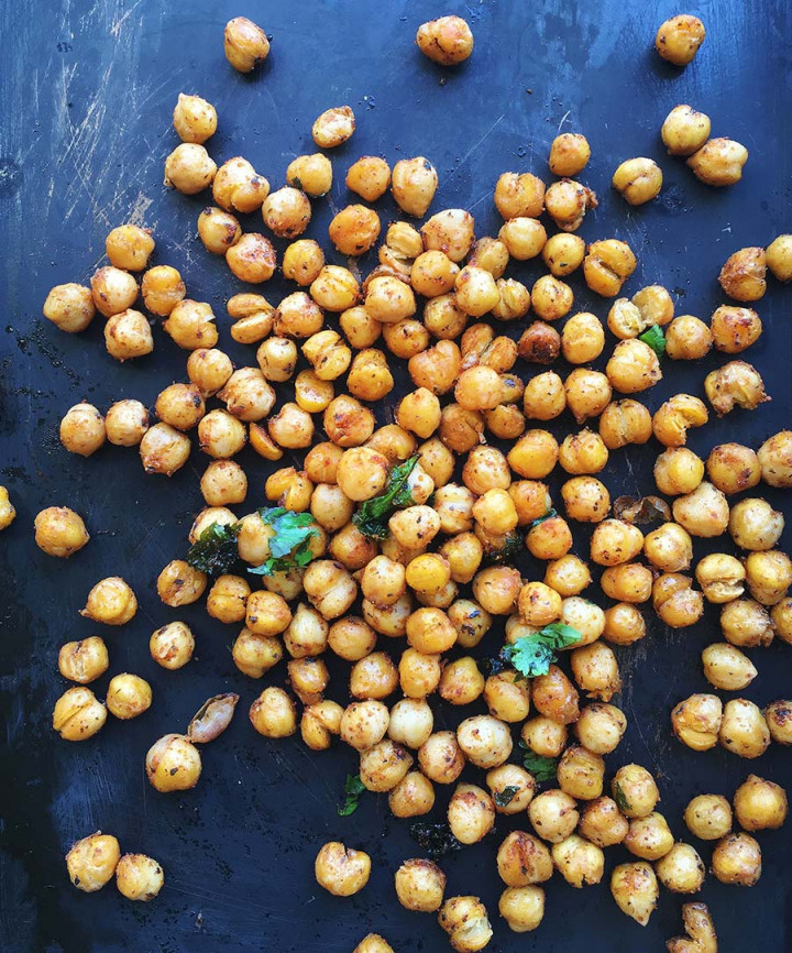 Crunchy Harissa Chickpea by Amelia Freer