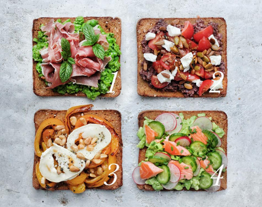 Amelia Freer's 12 Favourite Things on Toast