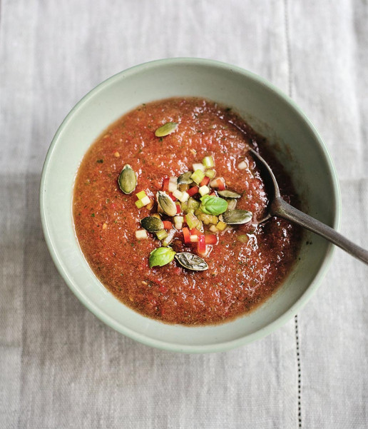 Amelia Freer's Recipes: Pepper Gazpacho
