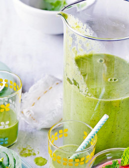 Green Breakfast Smoothie by Amelia Freer
