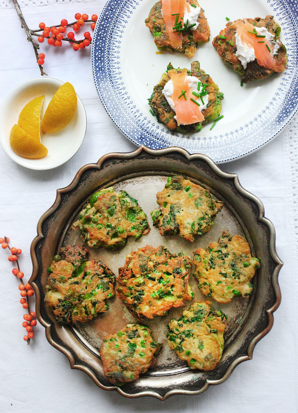 Brunch Vegetable Fritters