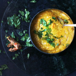 Warming Chicken & Pumpkin Soup by Amelia Freer