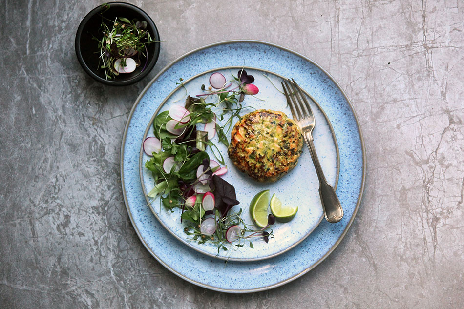 Asian Salmon Burgers by Amelia Freer