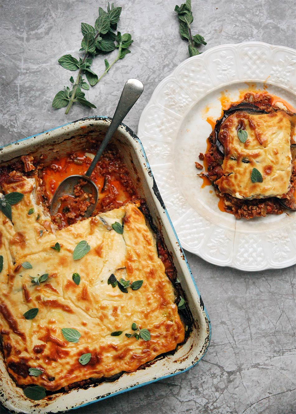Lamb Moussaka by Amelia Freer