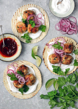 Turkey Meatball Tacos, by Amelia Freer (gluten Free)