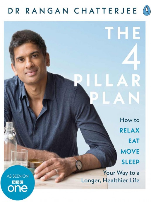 The 4 Pillar Plan: How to Relax, Eat, Move and Sleep Your Way to a Longer, Healthier Life by Dr Rangan Chatterjee . Shop Amelia Freer books.