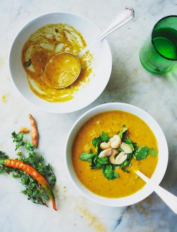 Amelia Freer's Healing Carrot, Turmeric and Coriander Soup