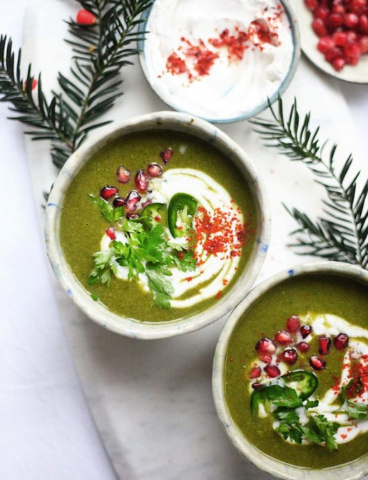 Amelia Freer's Green Curry Turkey Soup