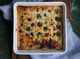 Brussels Sprouts Cashew Cheese