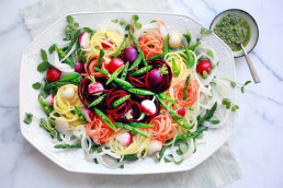 English Summer Garden Salad