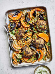Chicken Tray Bake by Amelia Freer
