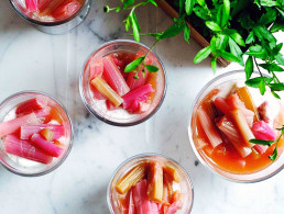 Amelia Freer's Rhubarb & Orange Fool
