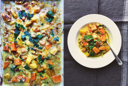 Warming Chickpea & Pumpkin Curry by Amelia Freer