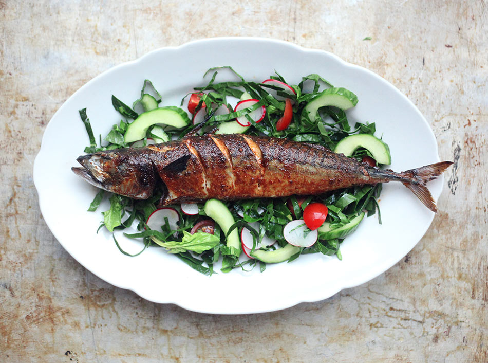 Smokey Devilled Mackerel by Amelia Freer