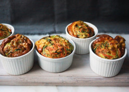 Vegetable Soufflé with Parsley, Sage & Rosemary by Amelia Freer