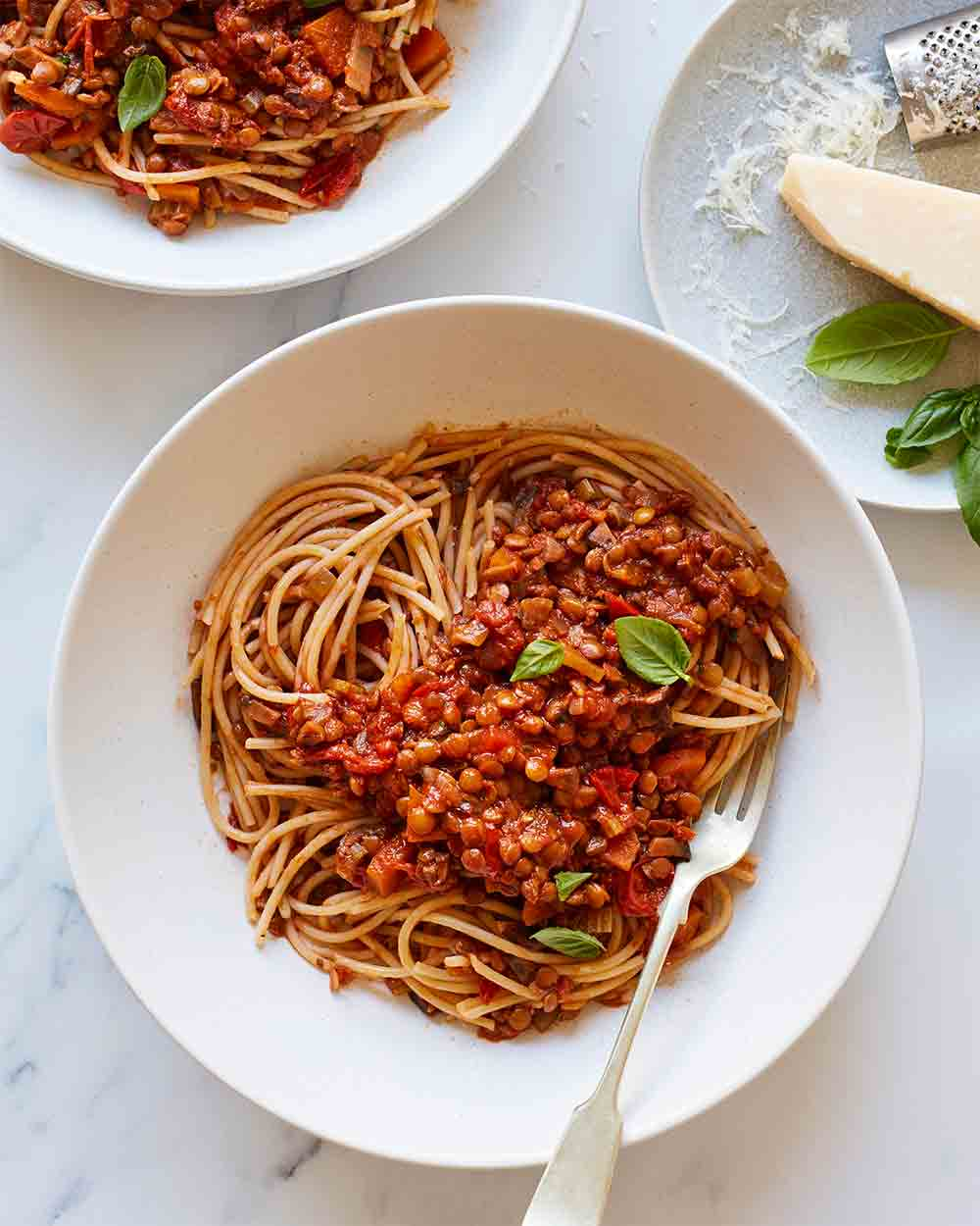 Lentil and Mushroom Ragu by Amelia Freer