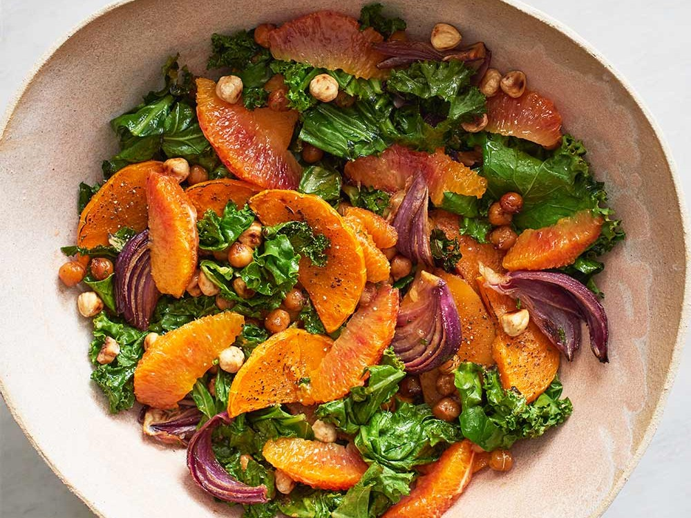 One-Tray Winter Roasted Salad