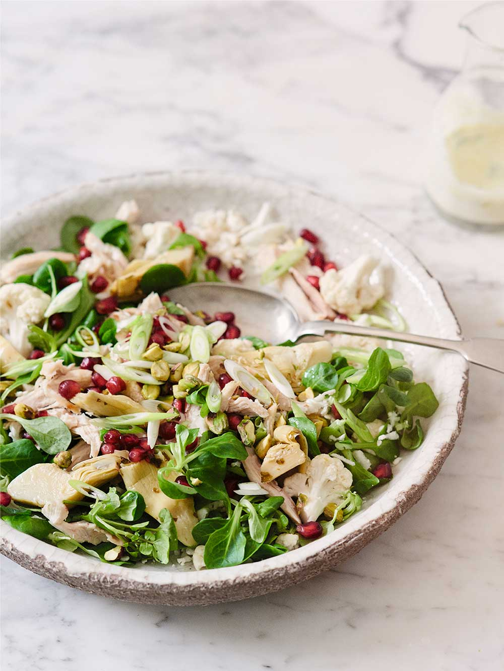 Chicken, Cauliflower & Pistachio Salad by Amelia Freer